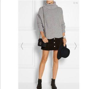 Maje Matignon oversized knit turtleneck sweater S